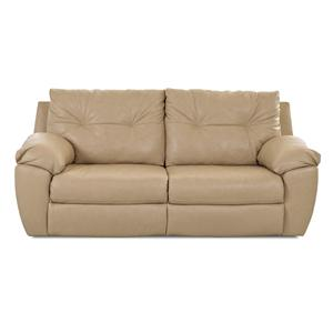 Klaussner Arco Transitional Reclining 2 Over 2 Sofa