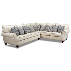 Shabby Chic Sectional Sofa