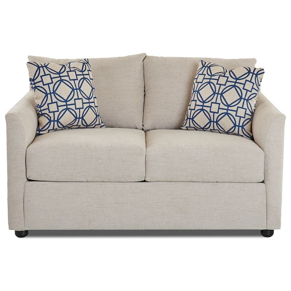 Atlanta Loveseat by Klaussner at Northeast Factory Direct