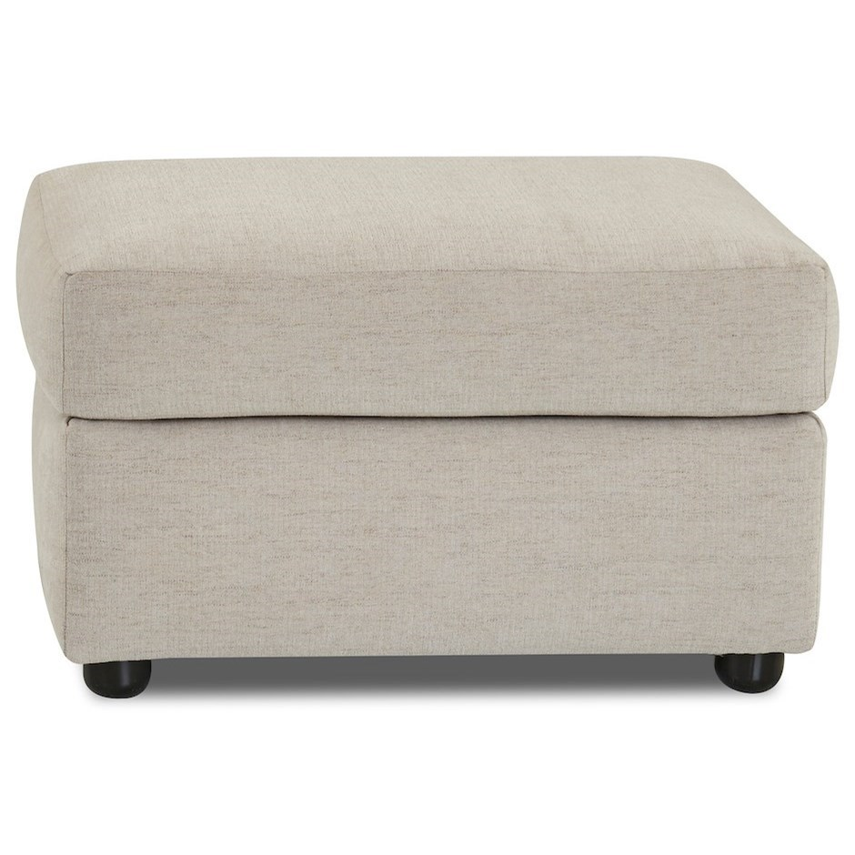 Atlanta Ottoman by Klaussner at Northeast Factory Direct
