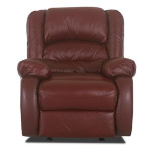 Casual Power Upholstered Wall Recliner