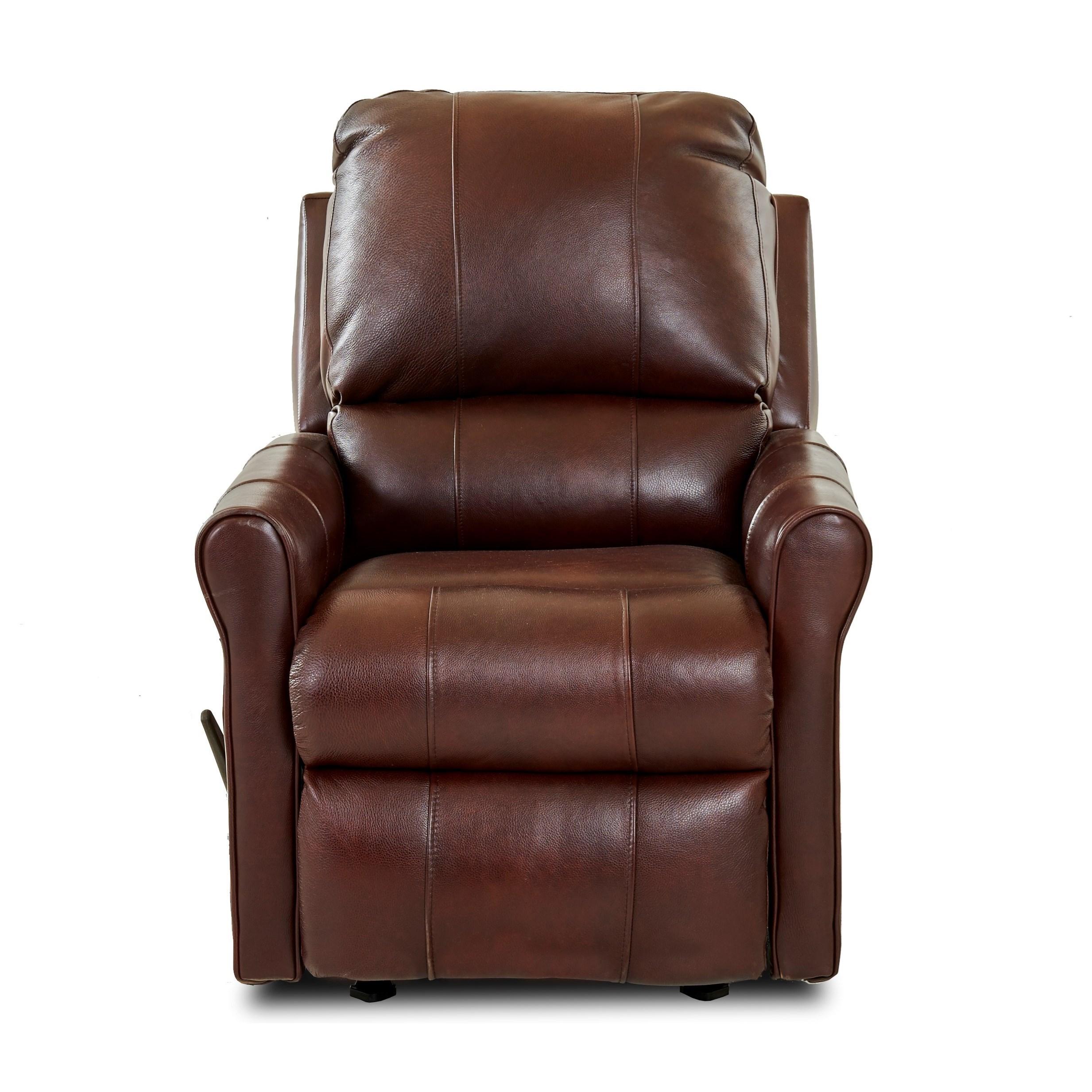 Baja Reclining Rocking Chair by Klaussner at Lapeer Furniture & Mattress Center