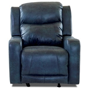 Power Rocking Recliner with Power Adjustable Headrest and Lumbar