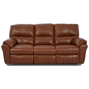 Casual Reclining Sofa with 2 Recliners