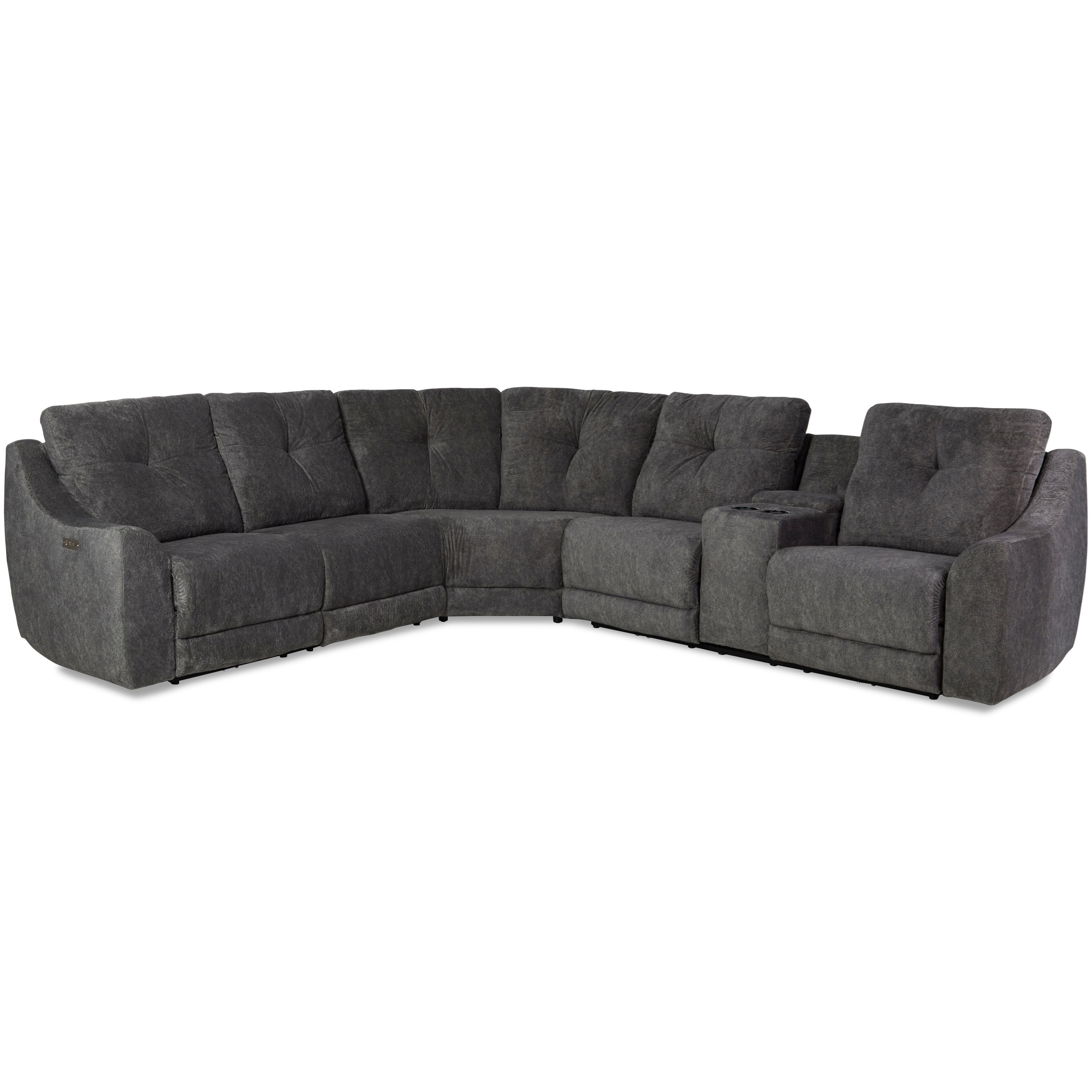Bayboro Power Reclining Sectional by Klaussner at Johnny Janosik