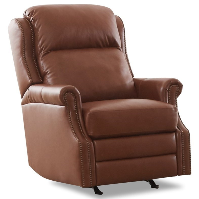 Beaumont Power Rocking Reclining Chair by Klaussner at Northeast Factory Direct