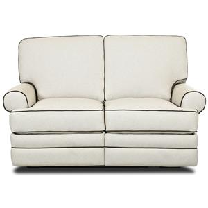 Klaussner Belleview Power Reclining Loveseat