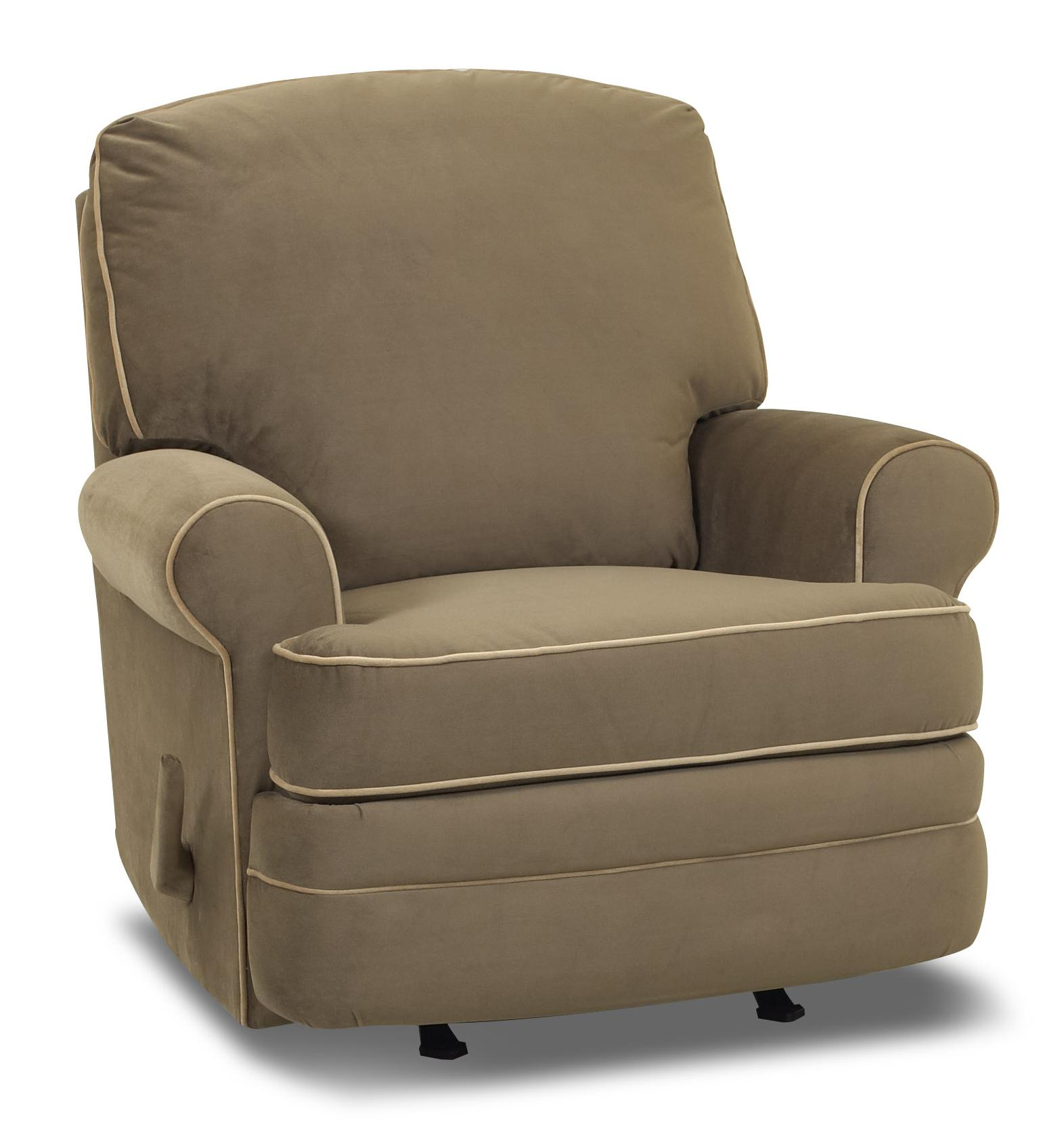 Belleview Reclining Chair by Klaussner at Johnny Janosik