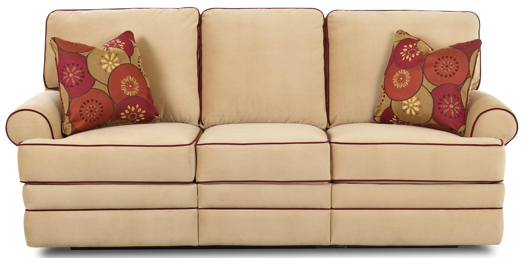 Belleview Power Reclining Sofa by Klaussner at Johnny Janosik