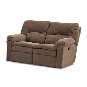 Klaussner Bennington Casual Power Reclining Loveseat