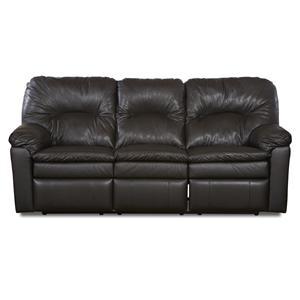 Klaussner Bennington Casual Reclining Sofa