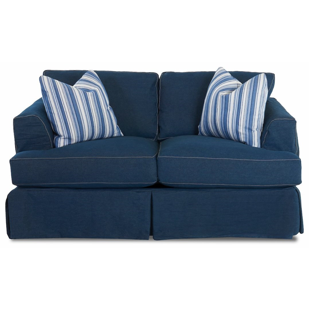 Bentley Loveseat by Klaussner at Northeast Factory Direct
