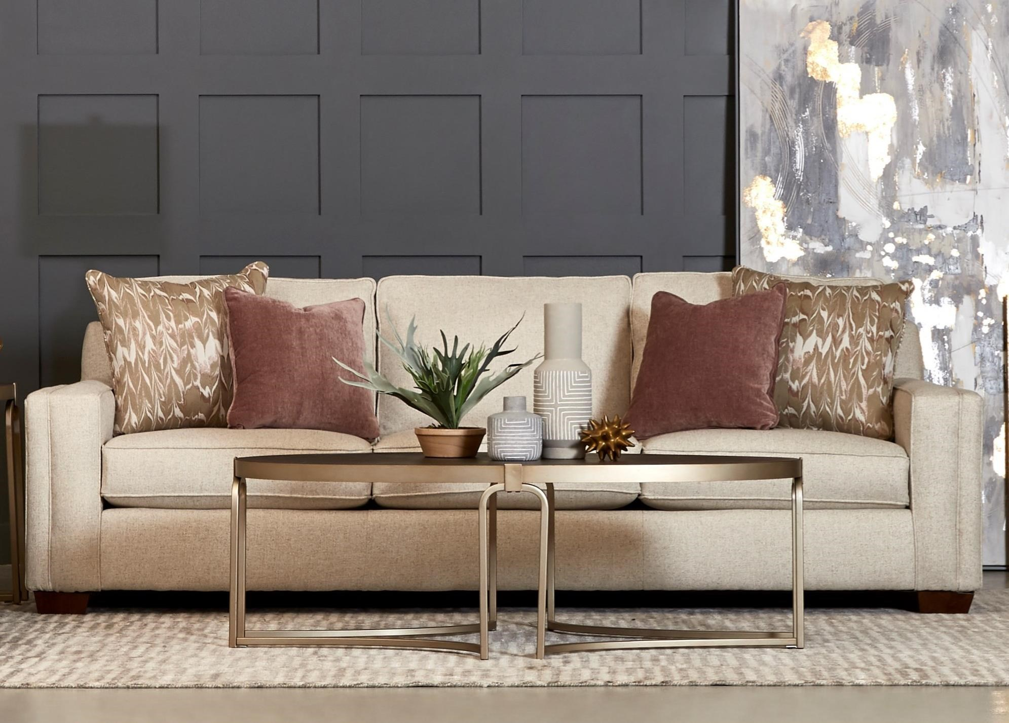 Boden Extra Large Sofa with Kool Gel Cushions by Klaussner at Northeast Factory Direct