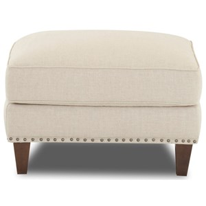 Ottoman with Nailheads (No Trim)