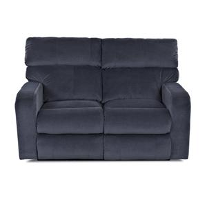 Klaussner Bradford Casual Power Reclining Loveseat