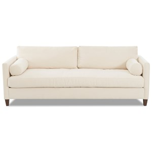 Sofa with Down Blend Cushions