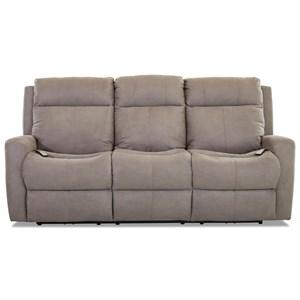 Power Recline Sofa w/ Pwr Head & Massage