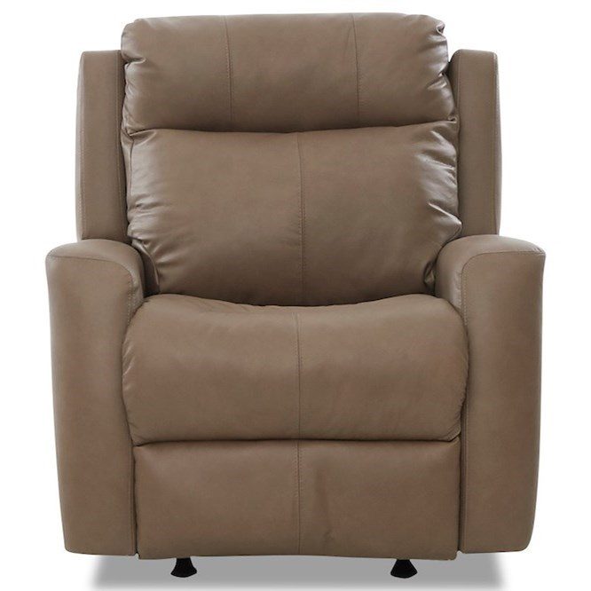 Brooks Power Rocker Recliner w/ Pwr Headrest by Klaussner at Northeast Factory Direct