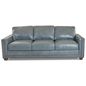 Transitional Sofa with Nailheads