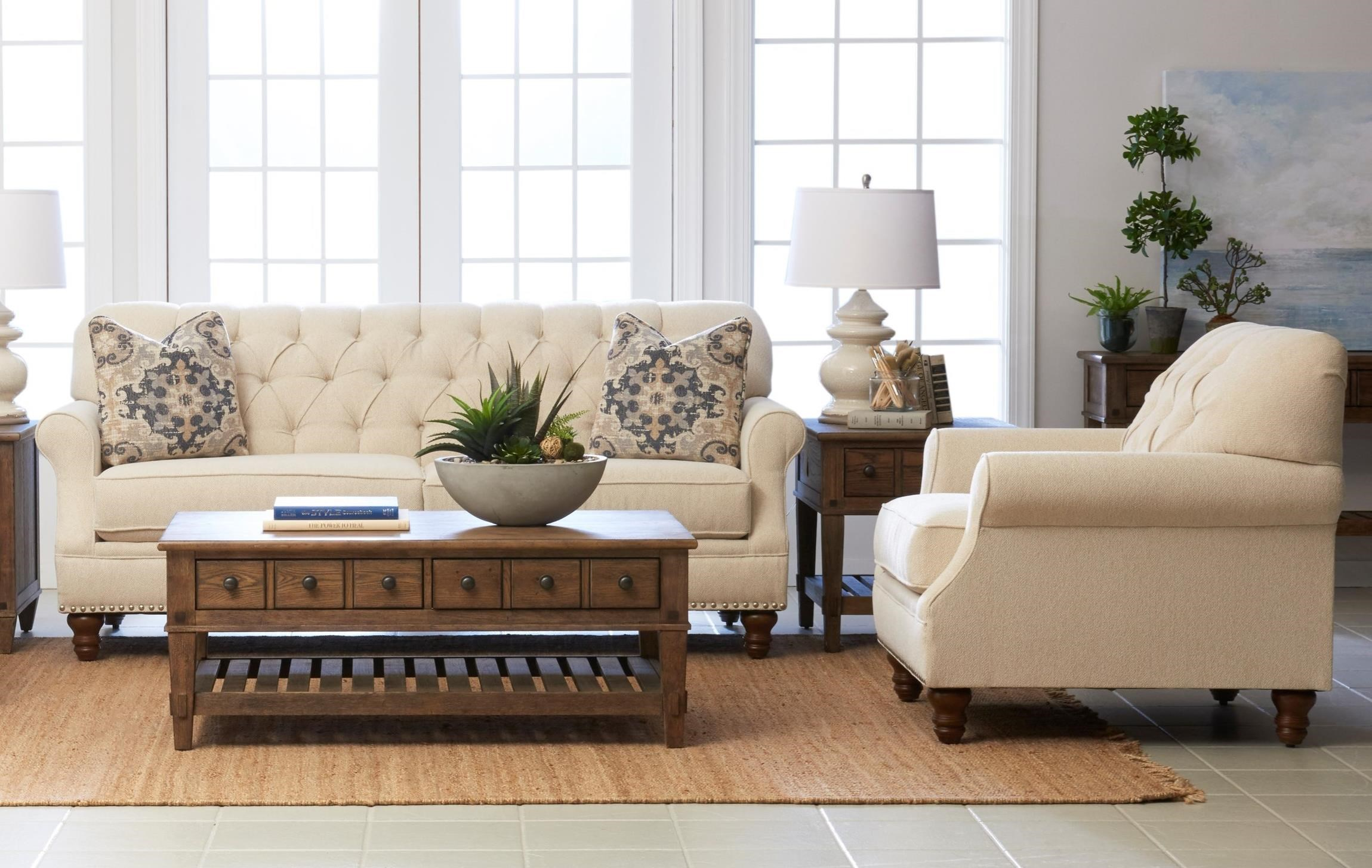 Burbank Living Room Group by Klaussner at Northeast Factory Direct