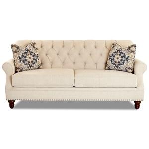 Sofa w/ Nailheads