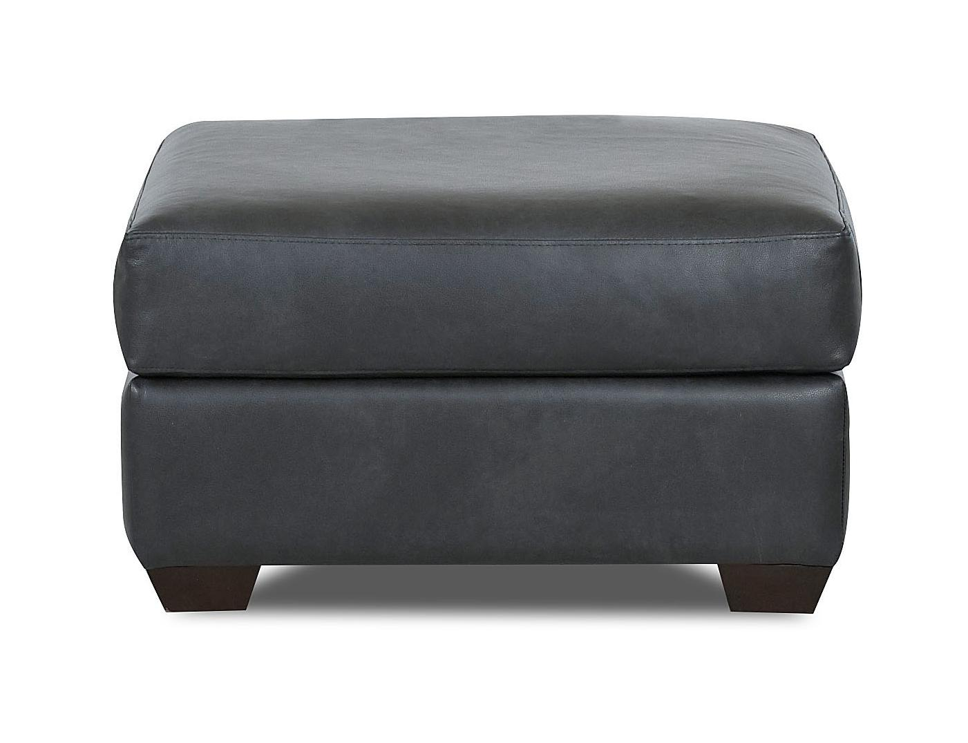 Canoy Transitional Ottoman by Klaussner at Johnny Janosik
