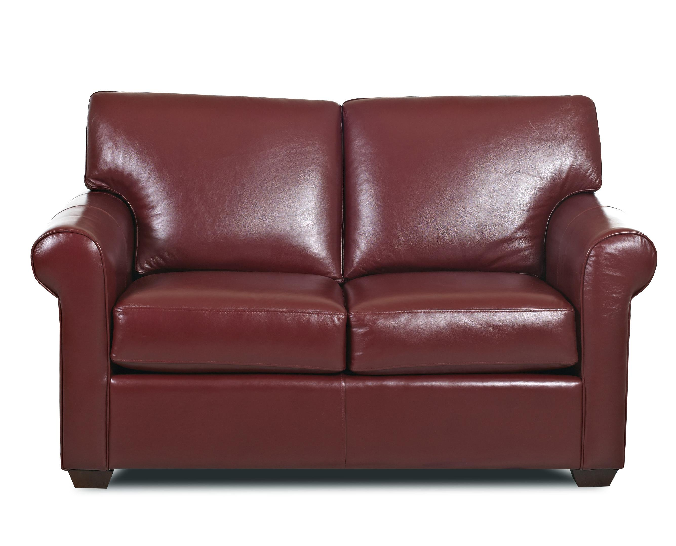Canoy Transitional Loveseat by Klaussner at Johnny Janosik