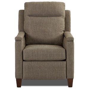 Power Headrest High Leg Recliner with Nailhead Trim and USB Charging Port