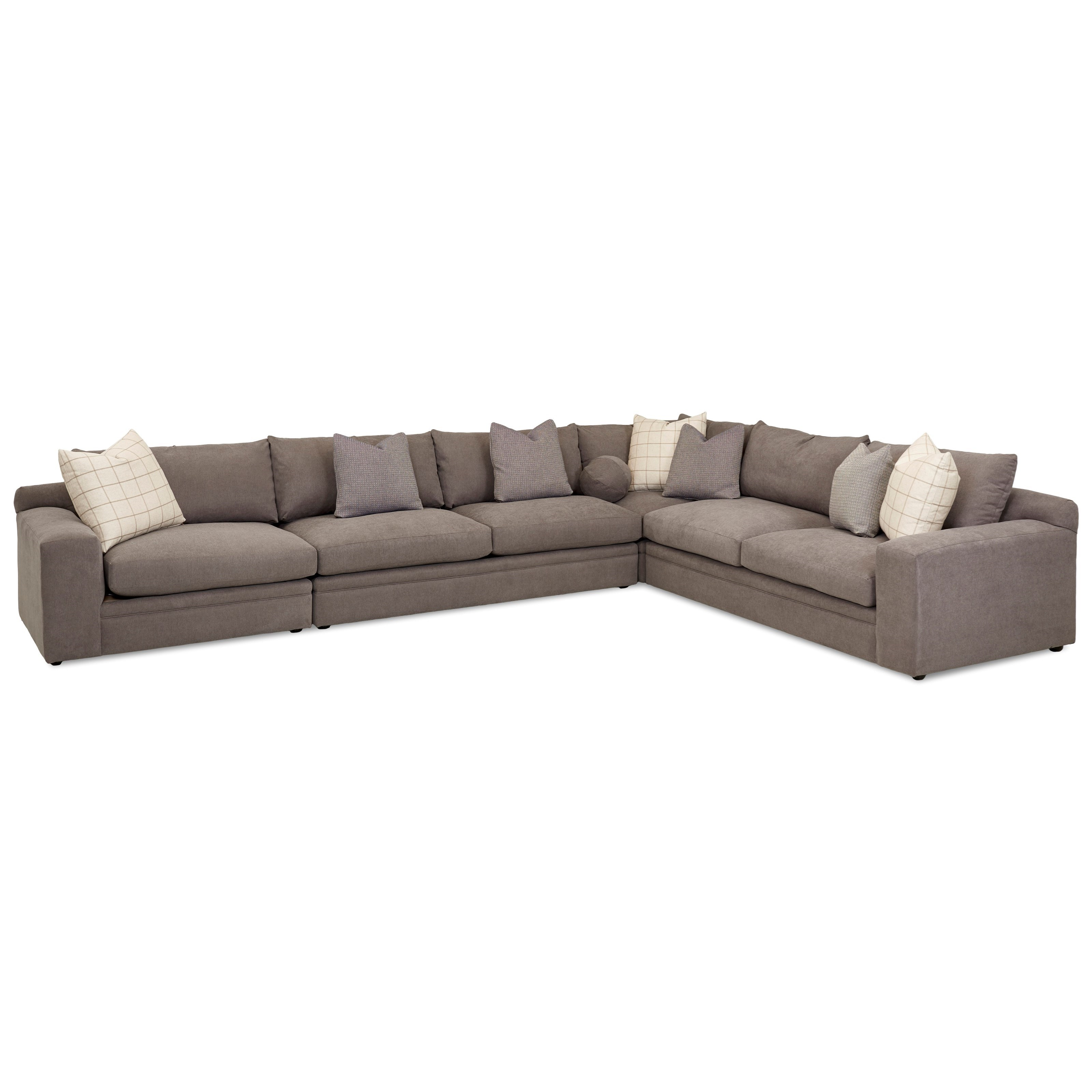 Casa Mesa 4 Pc Sectional Sofa w/ LAF Chair by Klaussner at Northeast Factory Direct
