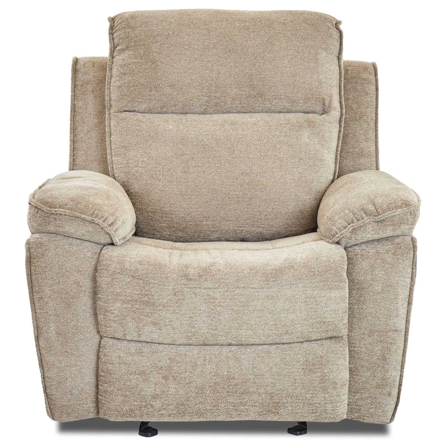 Castaway Casual Gliding Reclining Chair by Klaussner at Northeast Factory Direct