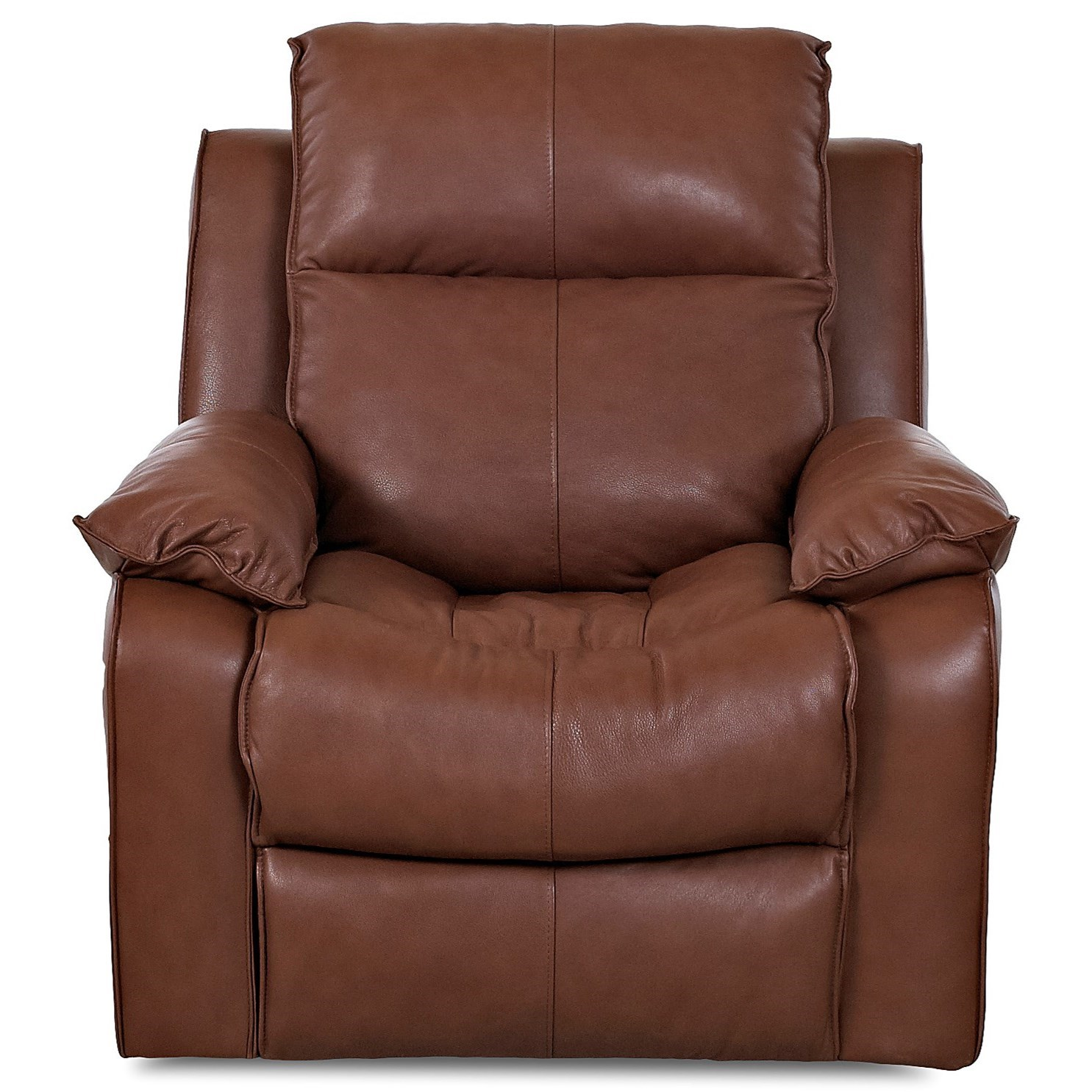 Castaway Casual Swivel Rocking Reclining Chair by Klaussner at Johnny Janosik