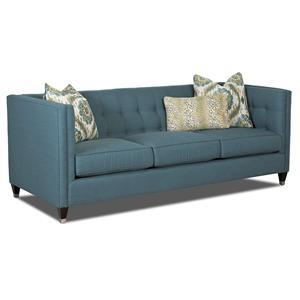 Klaussner Celeste Contemporary Sofa