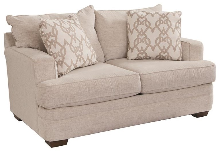 Chadwick Loveseat by Klaussner at Darvin Furniture