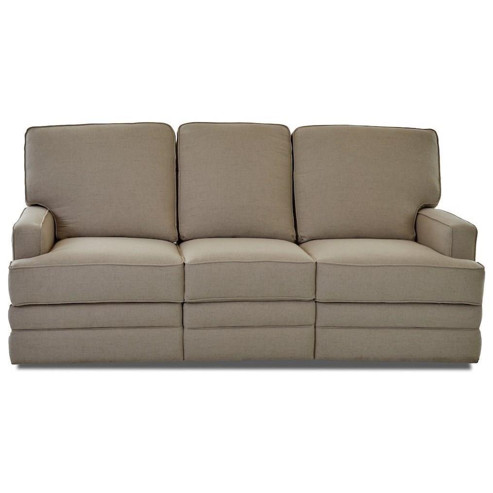 Chapman Power Reclining Sofa by Klaussner at Johnny Janosik