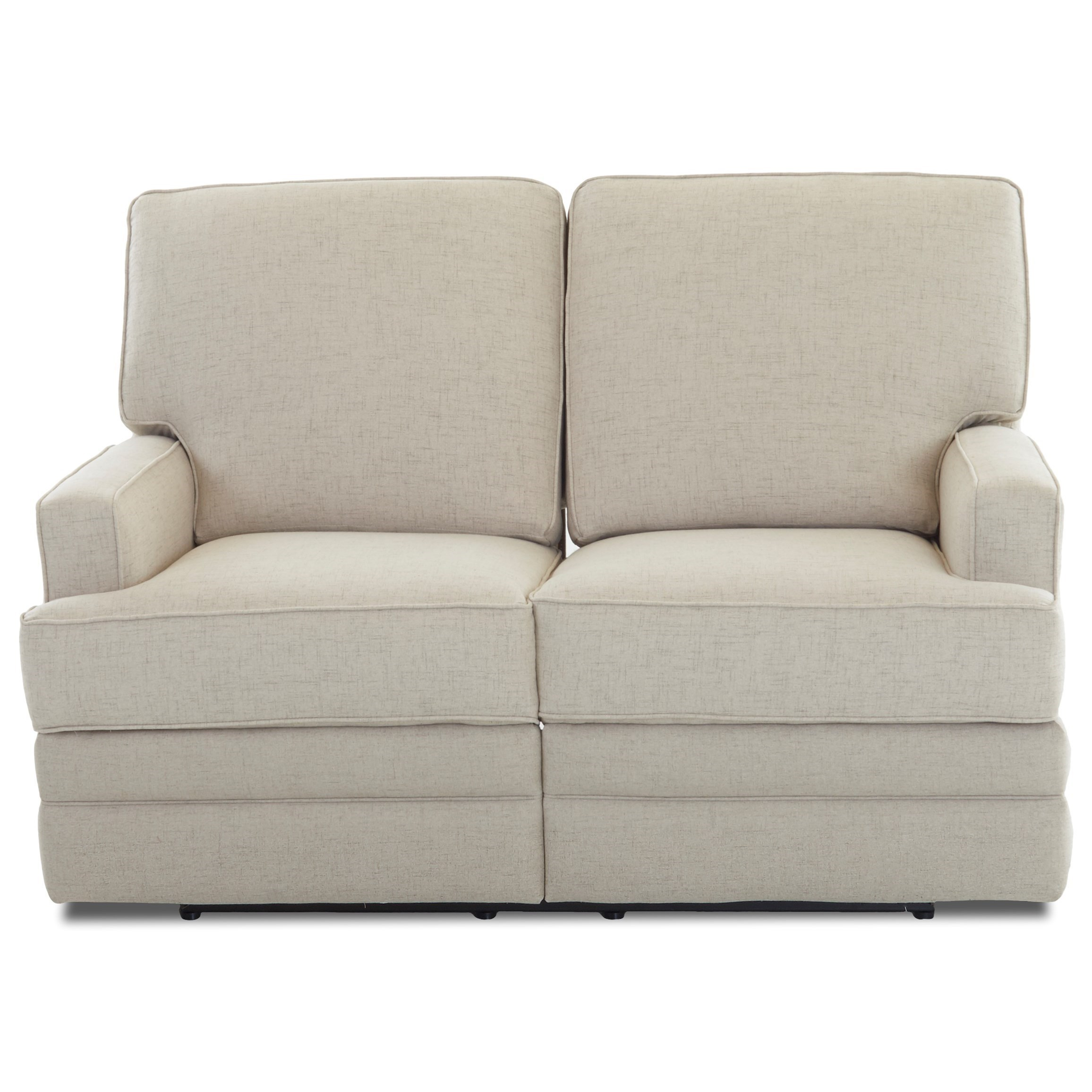 Chapman Casual Reclining Loveseat by Klaussner at Johnny Janosik