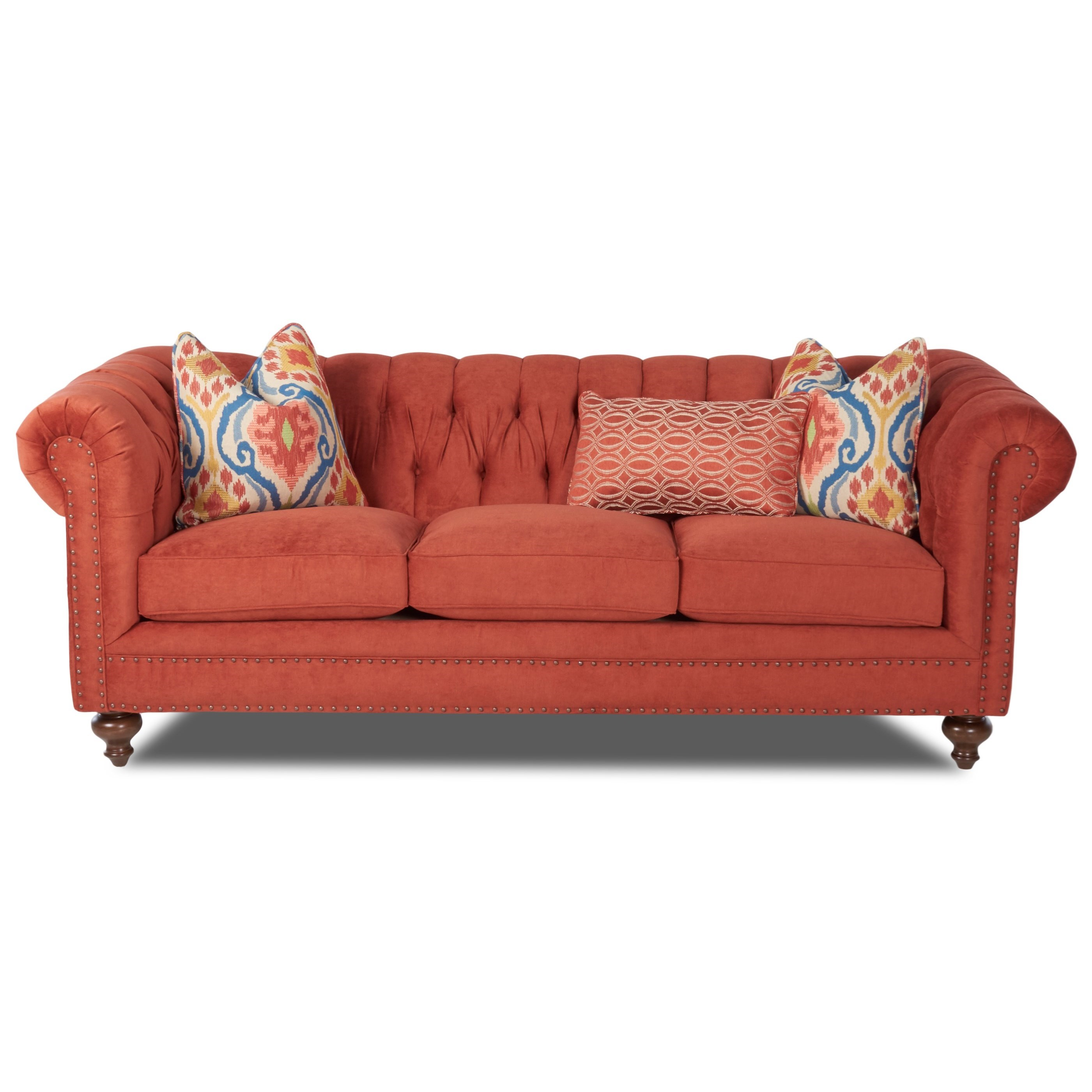 Charlotte  Sofa by Klaussner at Johnny Janosik