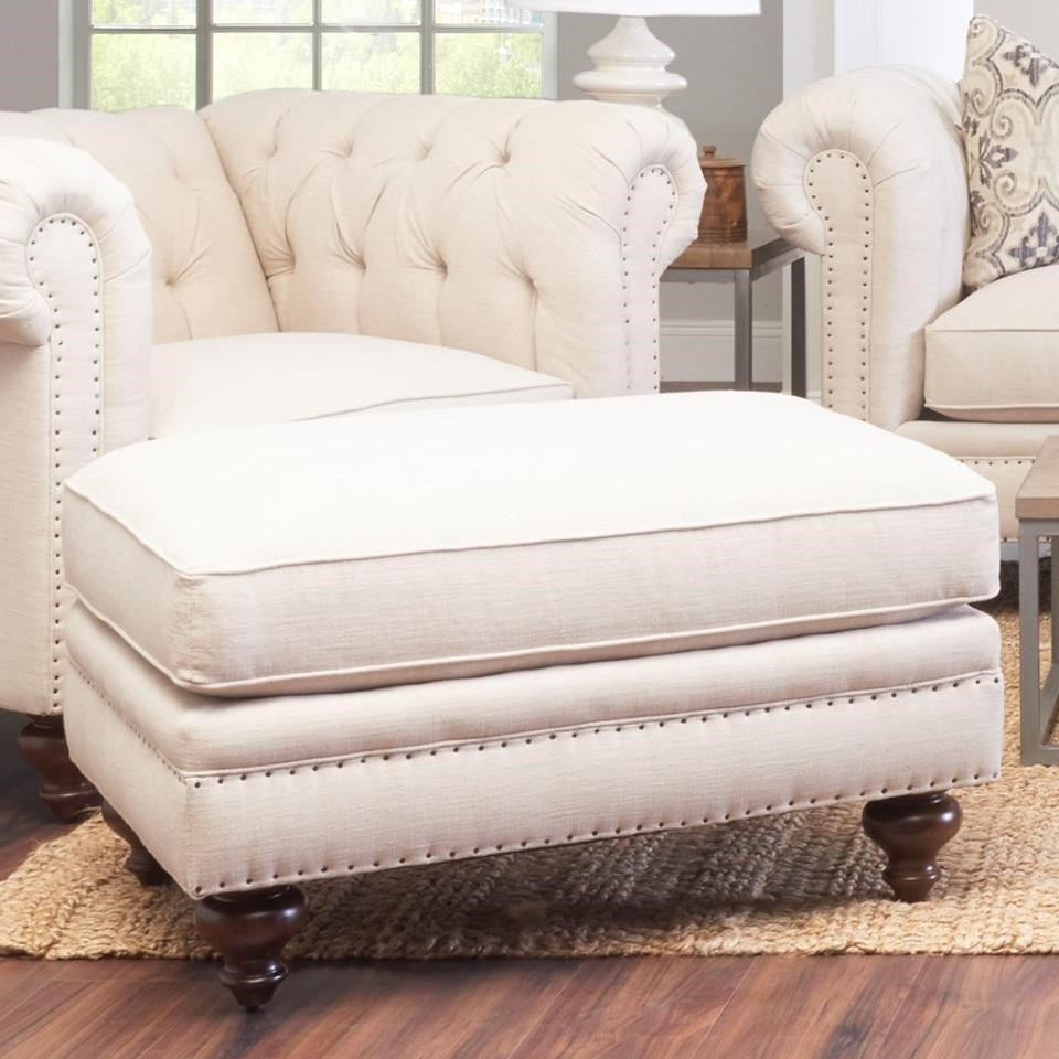 Charlotte Ottoman by Klaussner at Northeast Factory Direct