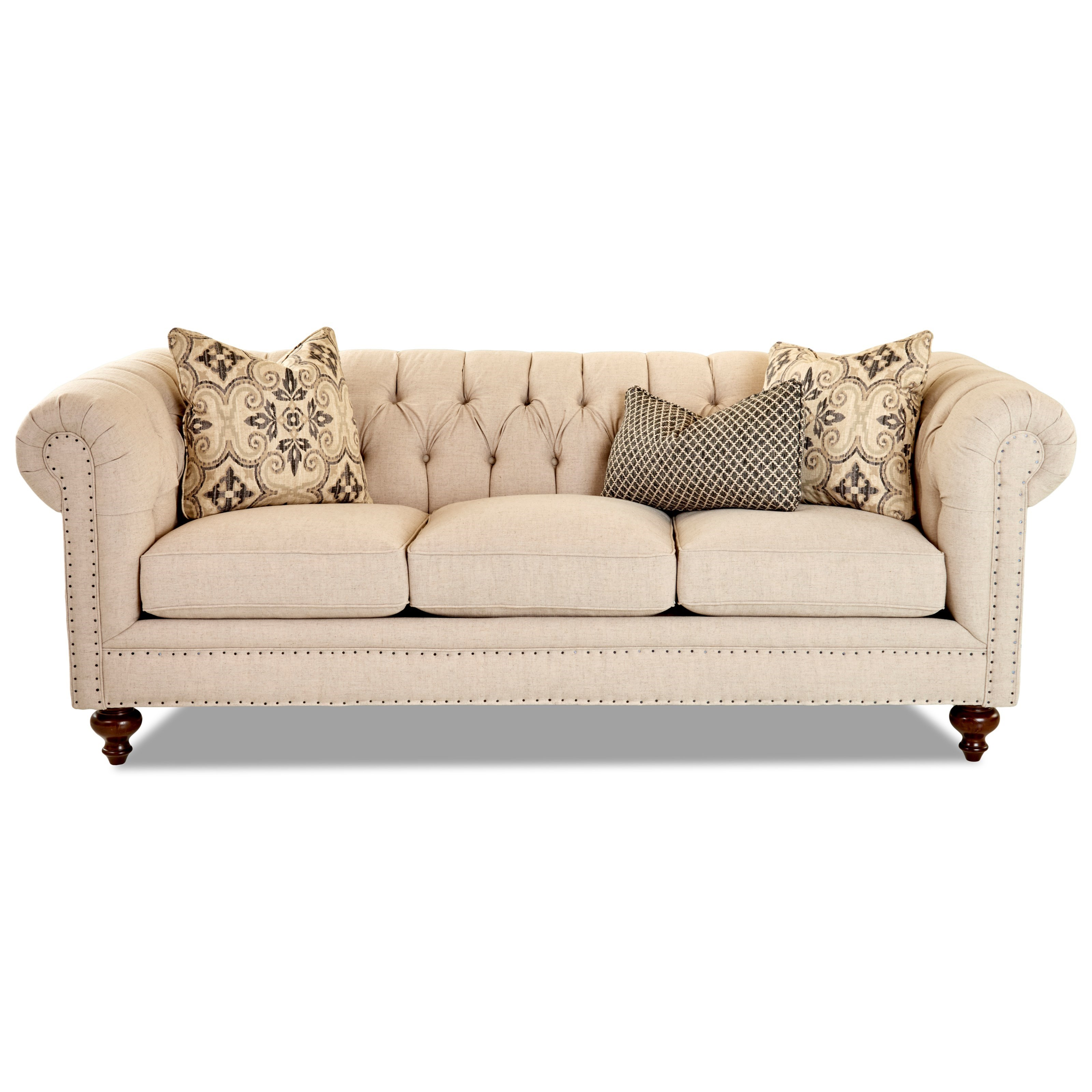 Charlotte Sofa by Klaussner at Northeast Factory Direct