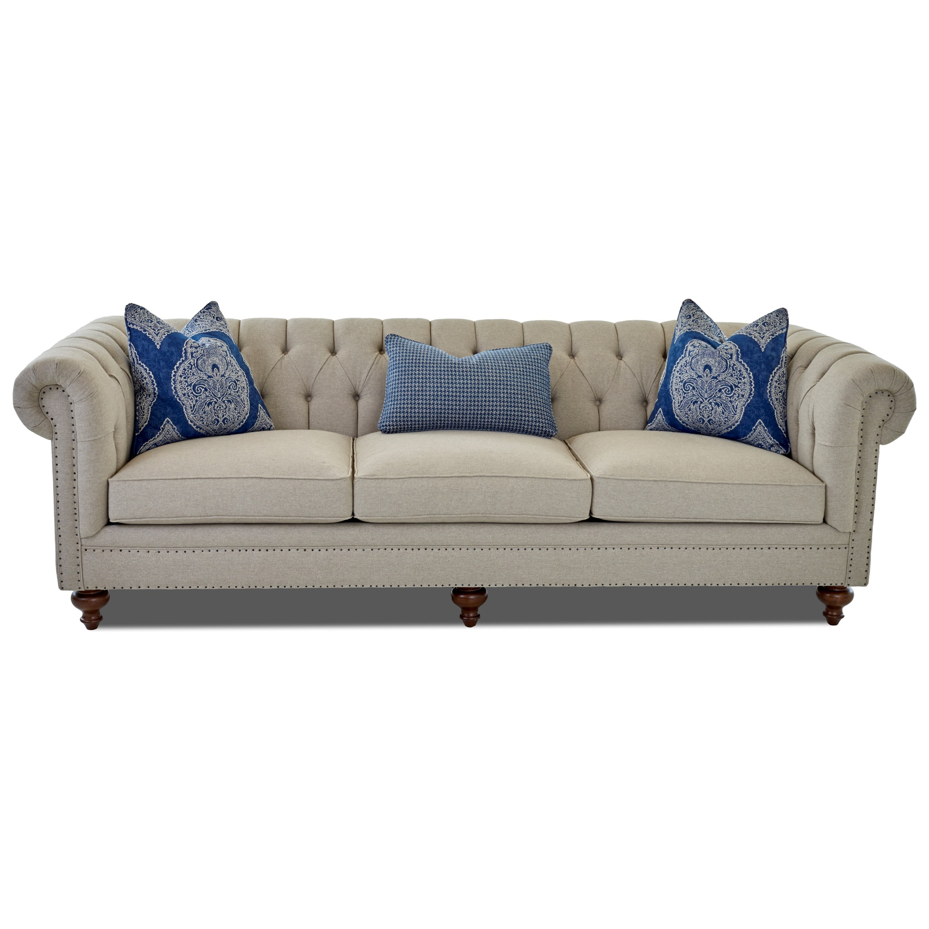 Charlotte Extra Large Sofa by Klaussner at Johnny Janosik