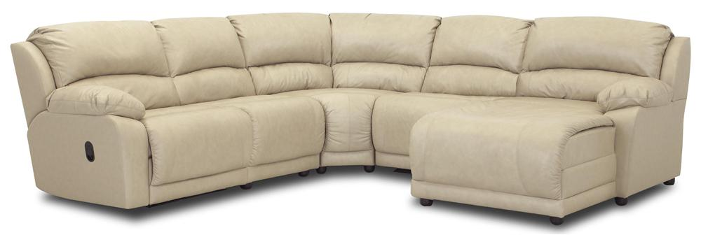 Charmed Five Piece Sectional Sofa by Klaussner at Johnny Janosik