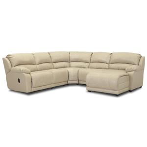 Klaussner Charmed Five Piece Sectional Sofa