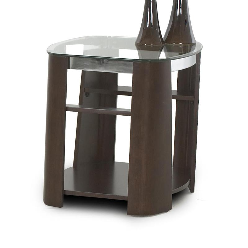 Christina End Table by Klaussner International at Northeast Factory Direct