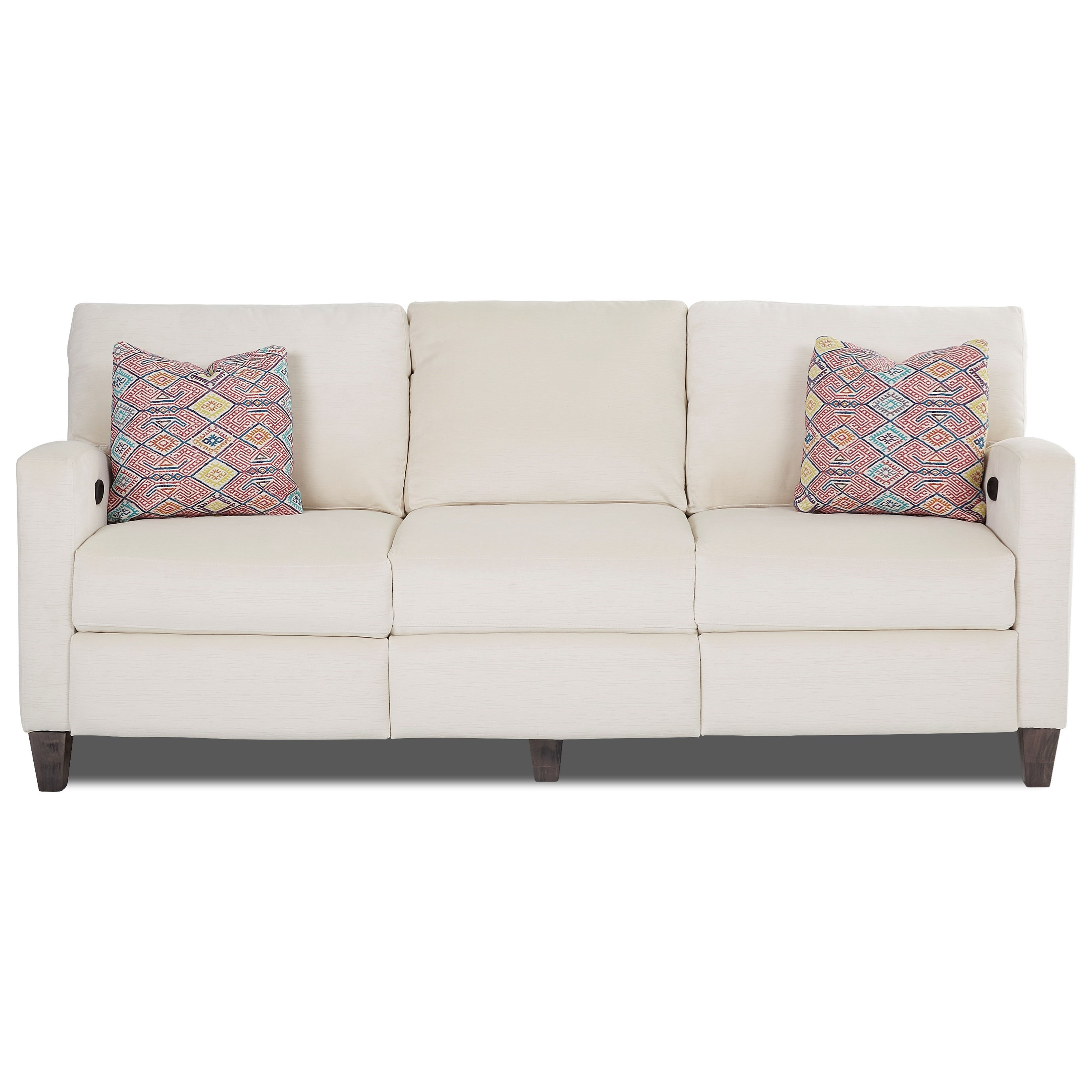Colleen Power Hybrid Sofa by Klaussner at Johnny Janosik
