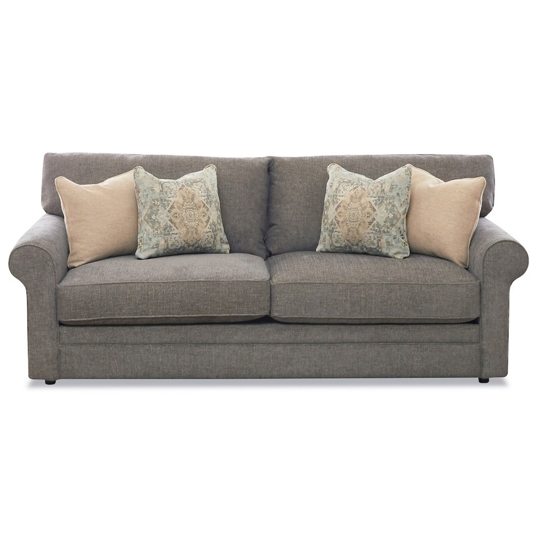 Comfy Air Dream Queen Sleeper Sofa by Klaussner at Johnny Janosik
