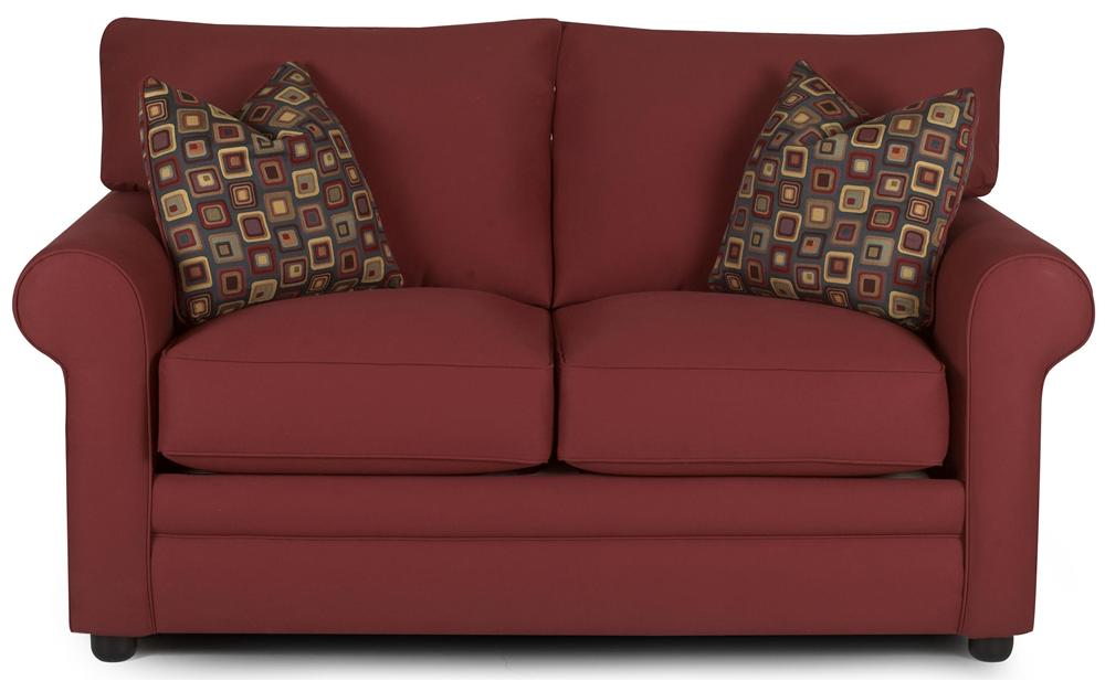 Comfy Loveseat by Klaussner at Johnny Janosik
