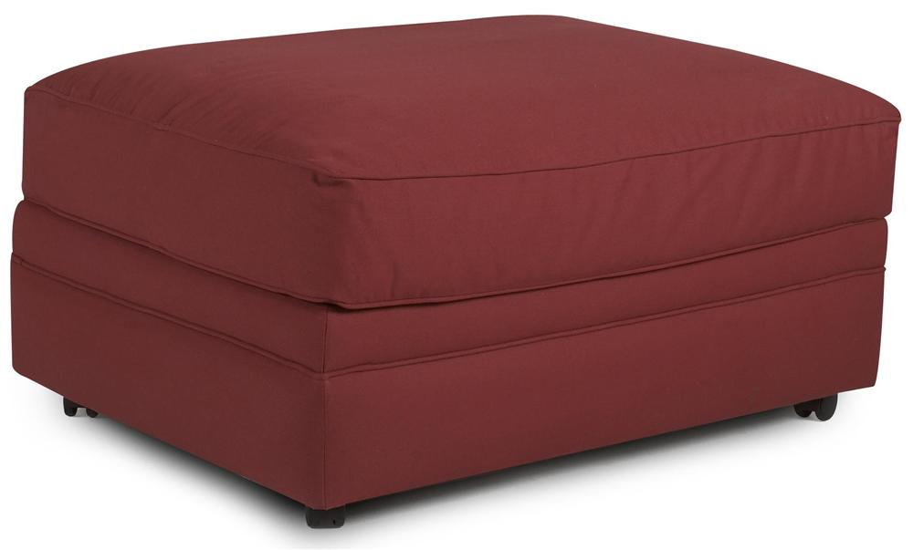 Comfy Ottoman by Klaussner at Lapeer Furniture & Mattress Center