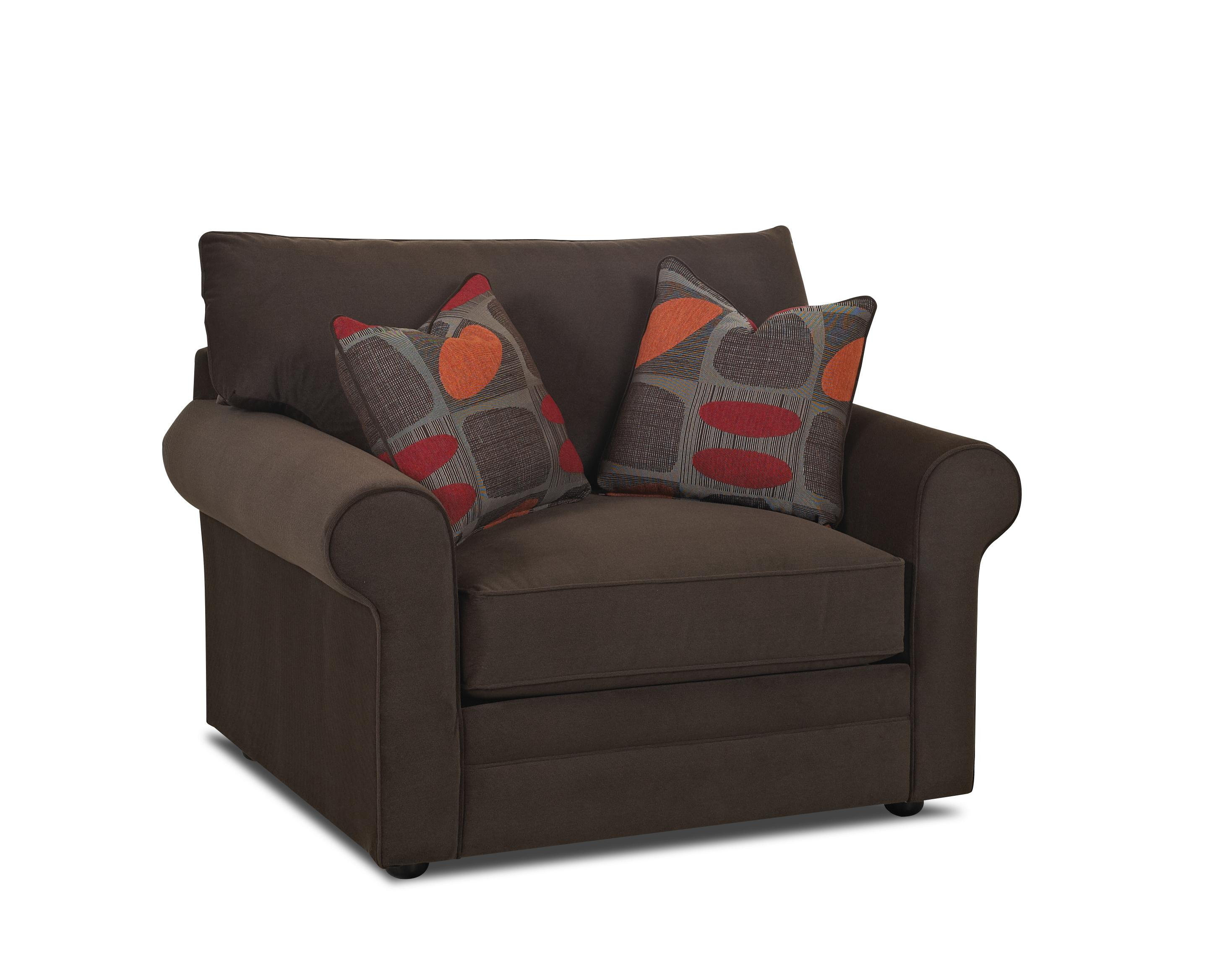Comfy Big Chair by Klaussner at Northeast Factory Direct