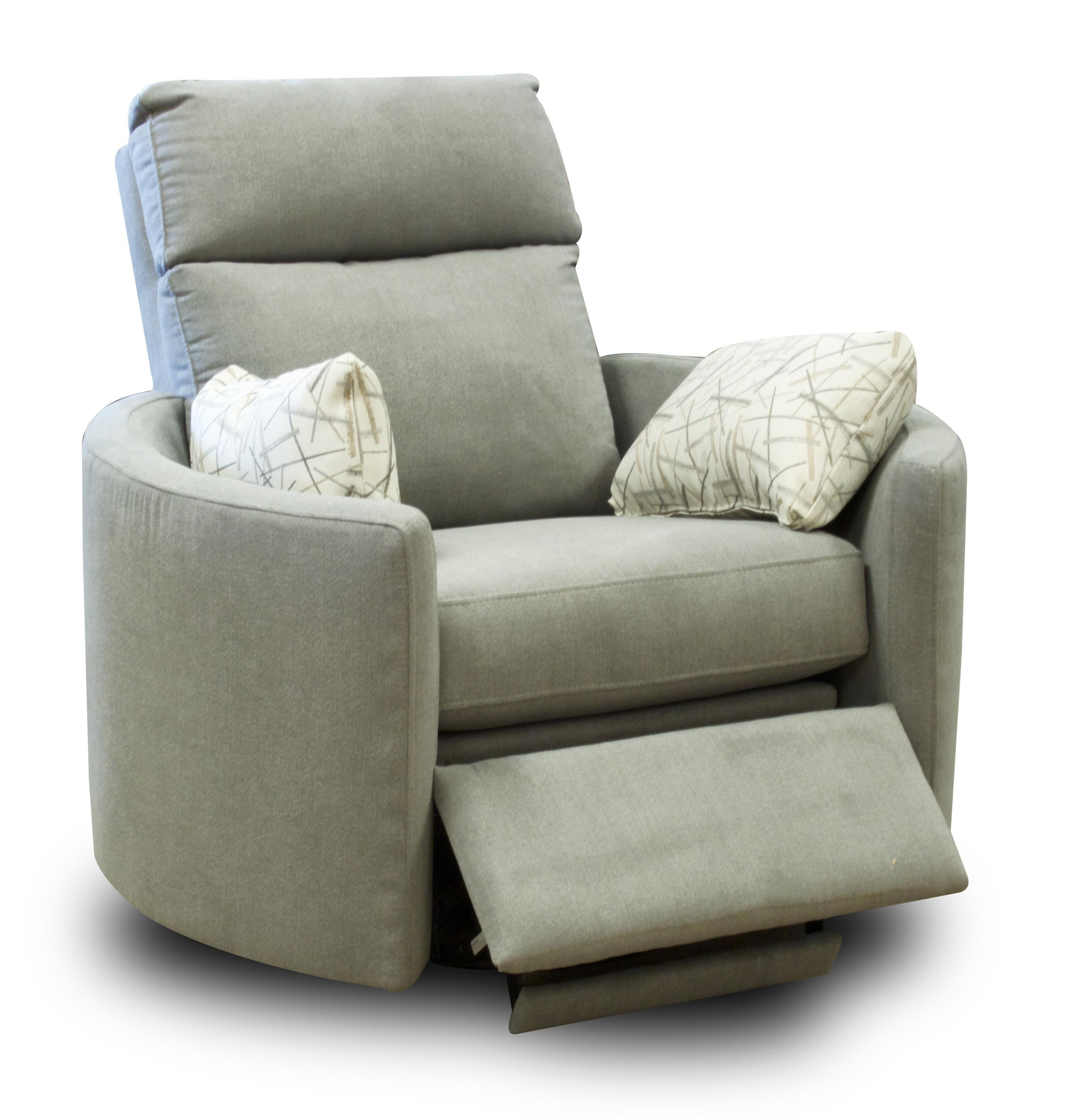 Contemporary Reclining Swivel Chair