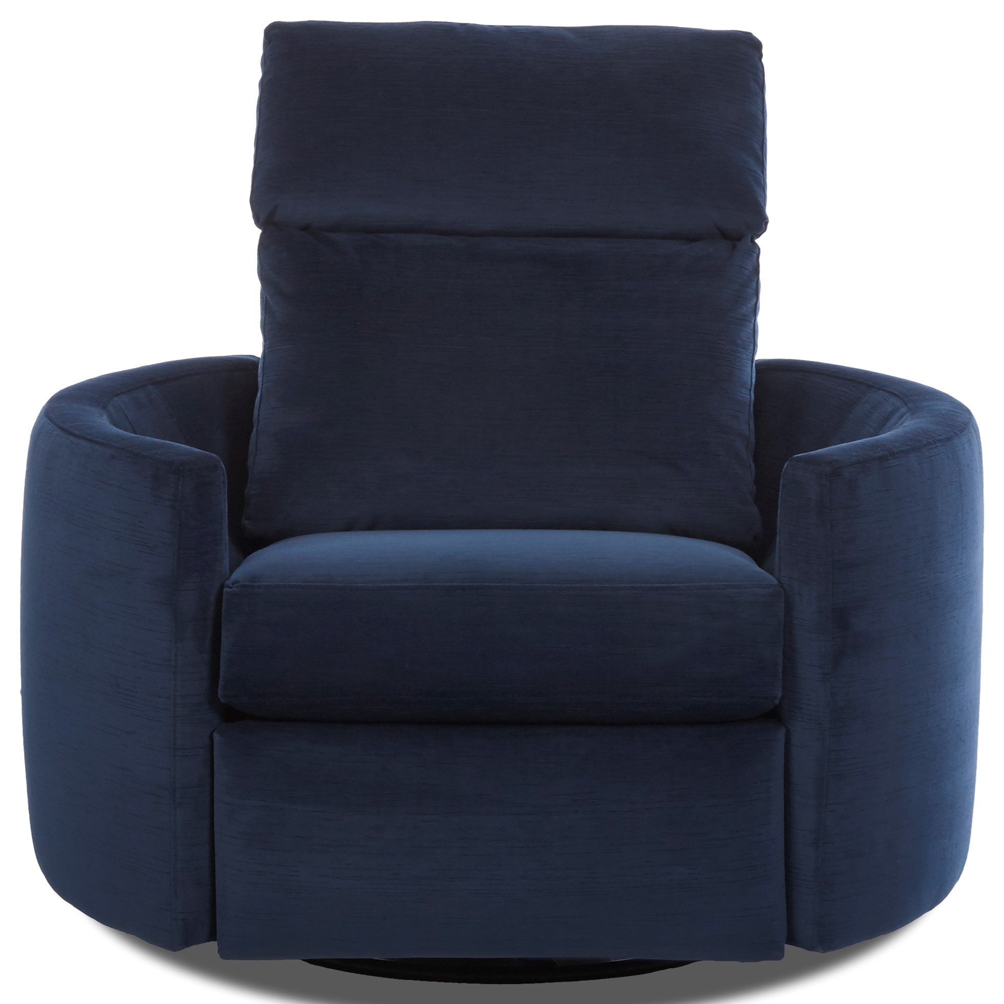 Cosmo Reclining Swivel Chair by Klaussner at Johnny Janosik