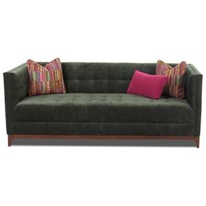 Contemporary Tuxedo Sofa